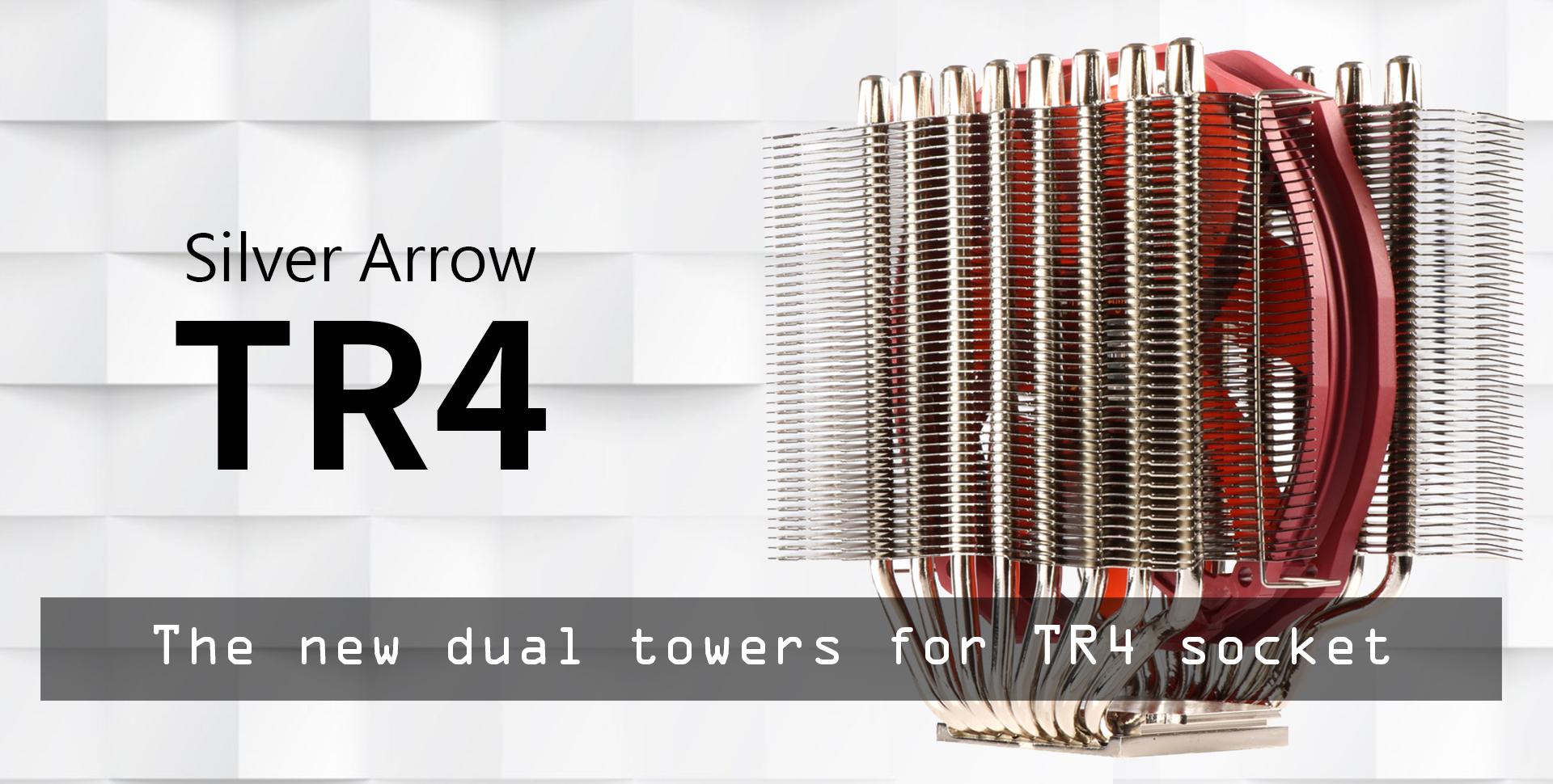 Silver Arrow TR4